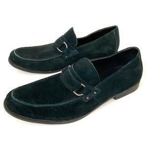 Marc Anthony Slip-On Black Suede Loafer